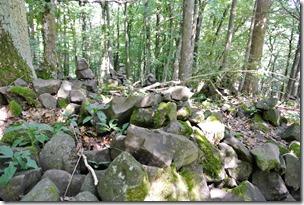 Traumpfad Hochbermeler - noch mehr Steinhaufen