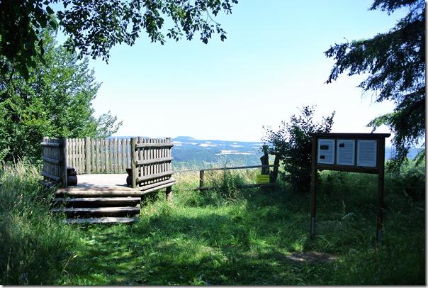 Traumpfad Hochbermeler - Aussichtsplattform