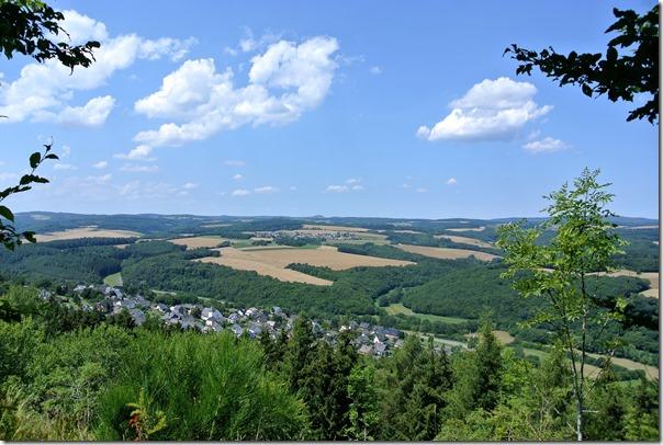 Traumpfad Hochbermeler - Fernsicht Eifel