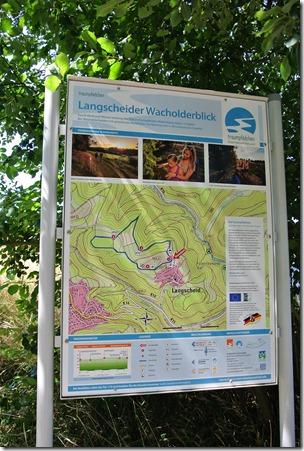 Traumpfädchen Langscheider Wacholderblick - Karte