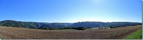 Traumpfädchen Löfer Rabenlaypfad - Panorama
